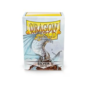 Sleeves: Dragon Shield Matte Silver