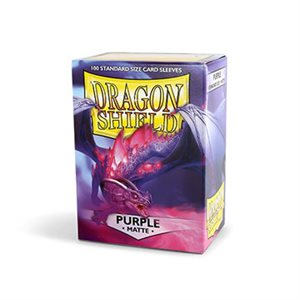 Sleeves: Dragon Shield Matte Purple