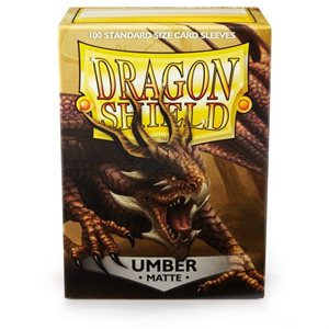 Sleeves: Dragon Shield Matte Umber
