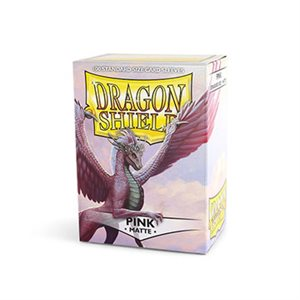 Sleeves: Dragon Shield Matte Pink