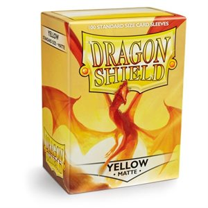 Sleeves: Dragon Shield Matte Yellow
