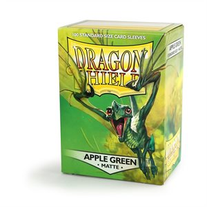 Sleeves: Dragon Shield Matte Apple Green