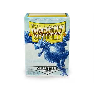 Sleeves: Dragon Shield Matte Clear Blue