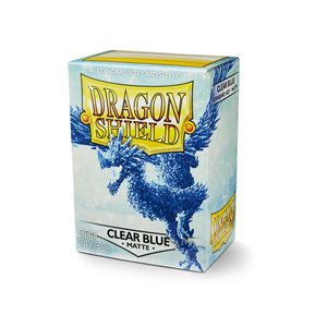 Sleeves: Dragon Shield Matte Clear Blue ^ Aug