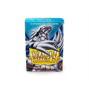 Sleeves: Dragon Shield Matte Japanese Silver (60)