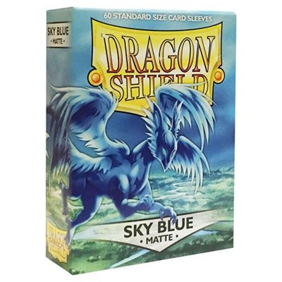 Sleeves: Dragon Shield Matte Sky Blue (60)