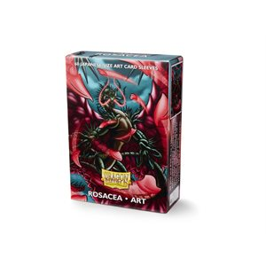 Sleeves: Dragon Shield Limited Edition Japanese Art Sleeves: Rosacea (60) ^ Aug