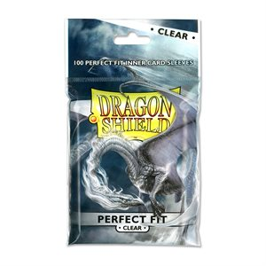 Sleeves: Dragon Shield Perfect Fit Clear (100)