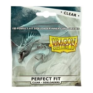 Sleeves: Dragon Shield Perfect Fit Sideloader Clear (100)