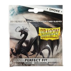 Sleeves: Dragon Shield Perfect Fit Sideloader Smoke (100)