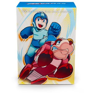 Sleeves: Dragon Shield Classic Mega Man and Rush (100)