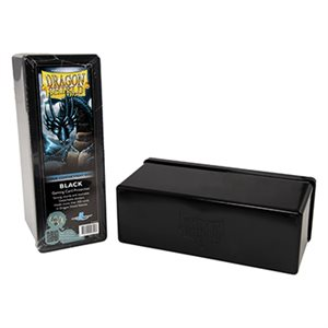 Dragon Shield Storage Box: 4 Compartments Black
