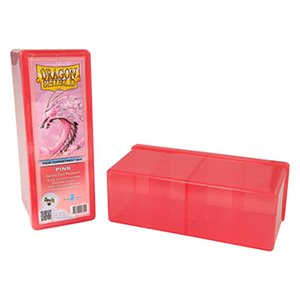 Dragon Shield Storage Box: 4 Compartments Pink