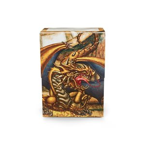 Deck Box: Dragon Shield Deck Shell: Gold Gygex