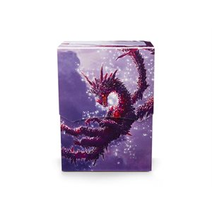 Deck Box: Dragon Shield Deck Shell: Limited Edition Racan Clear Purple ^ Aug