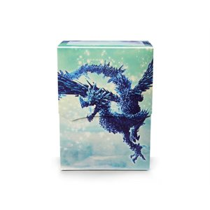 Deck Box: Dragon Shield Deck Shell: Limited Edition Celeste Clear Blue ^ Aug