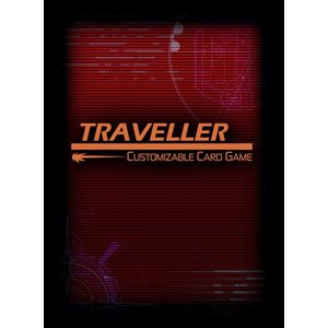 Traveller Customizable Card Game: Card Sleeves - A ^ Aug
