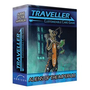 Traveller Customizable Card Game: Expansion Pack - Aliens of the Imperium ^ Aug