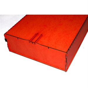 Trading Card Box - Large Red