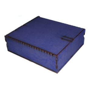 Trading Card Box - Large Blue