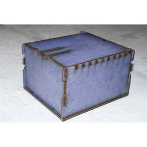 Trading Card Box - Small Blue