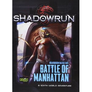 Shadowrun: Battle Of Manhattan (BOOK)