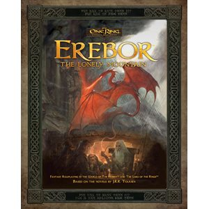 The One Ring: Erebor The Lonely Mountain (BOOK)