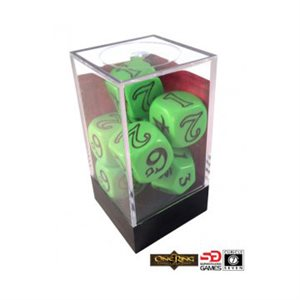 The One Ring Dice Set Green