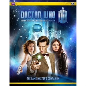 Doctor Who Roleplaying Game: Gamemaster Companion (BOOK)