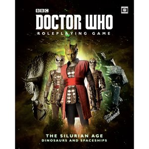 Doctor Who Roleplaying Game: Silurian Age (BOOK)