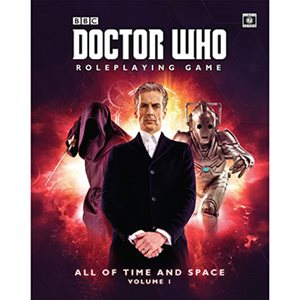 Doctor Who Roleplaying Game: All of Time and Space Volume 1 (BOOK)