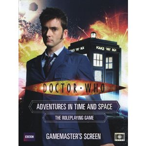 Doctor Who Roleplaying Game: Gamemasters Screen (BOOK)