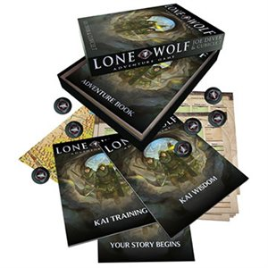 Lone Wolf Adventure Game (BOOK)