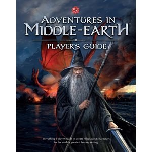 D&D: Adventures in Middle-earth Player's Guide HC (BOOK)