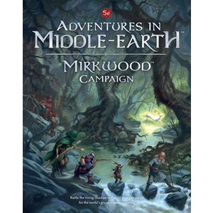 D&D: Adventures in Middle Earth: Mirkwood Campaign (BOOK)