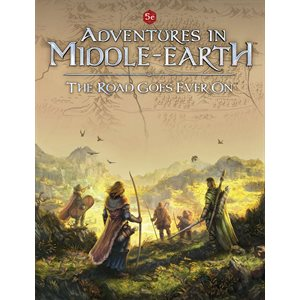 D&D: Adventures in Middle Earth: The Road Goes Ever On (BOOK)