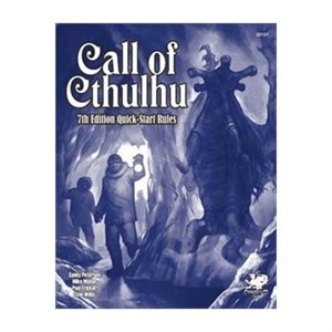 Call of Cthulhu: Call Of Cthulhu 7th Quickstart (BOOK)