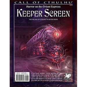 Call of Cthulhu: 7th Ed Keepers Screen (BOOK)