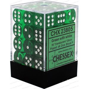 Translucent: 36D6 Green / White