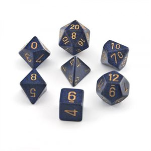 Speckled: 7Pc Golden Cobalt