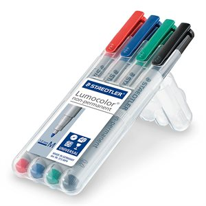 Marker: 4-Pack Water Soluble