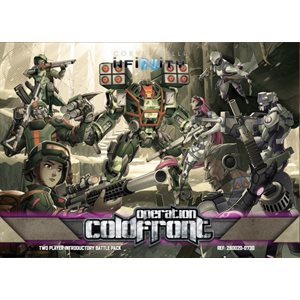 Infinity: Operation: Coldfront Two Player Introductory Battle Pack ^ Sep