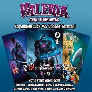 Valeria: Card Kingdoms Expansion Pack 2: Undead Samurai