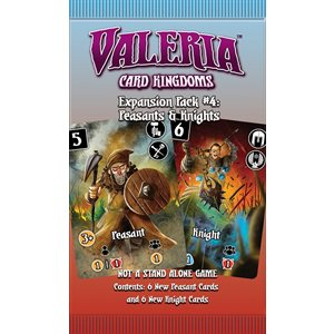 Valeria: Card Kingdoms Expansion Pack #4 Peasants & Knights