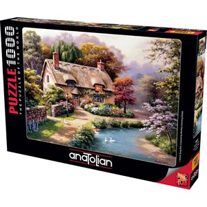 Puzzle: 1000 Duck Path Cottage