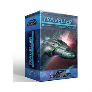 Traveller Customizable Card Game: Ship Deck - Beowulf Free Trader