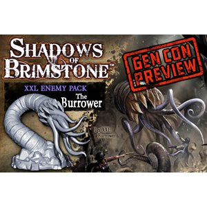 Shadows of Brimstone: Enemy Pack XXL - Burrower