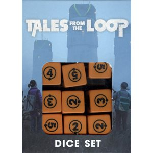 Tales from the Loop RPG: Dice Set (New Design) ^ May 2019