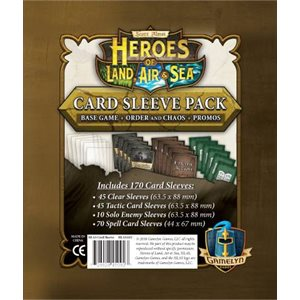 Heroes of Land Air and Sea Comprehensive Sleeve Pack (no amazon sales) ^ April 1 2019