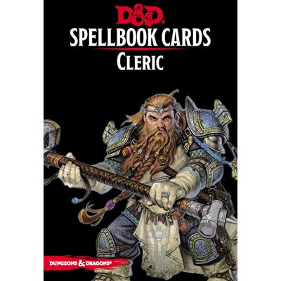 Dungeons & Dragons: Spellbook Cards Cleric